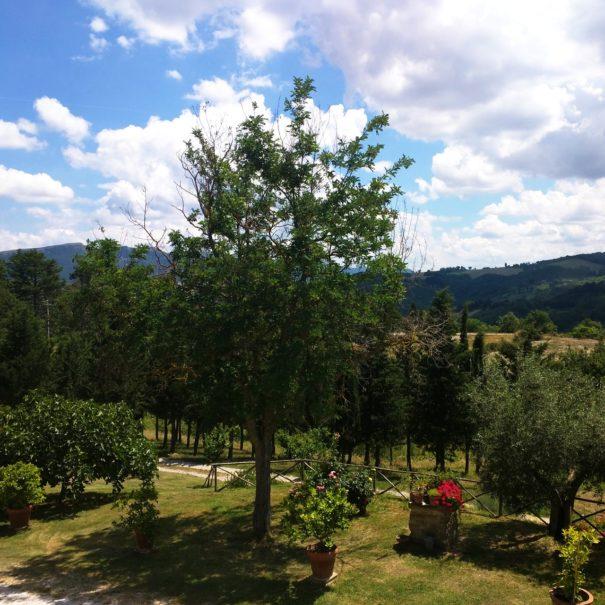 Camera tripla Edera, Agriturismo Le Volte a Gubbio